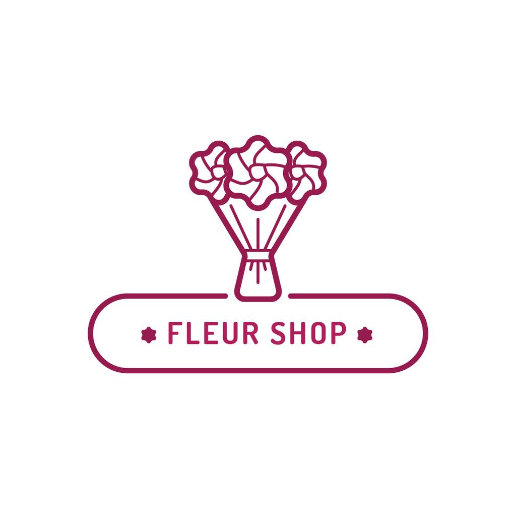Florist Services Ad Beautiful Bouquet — Create a Design