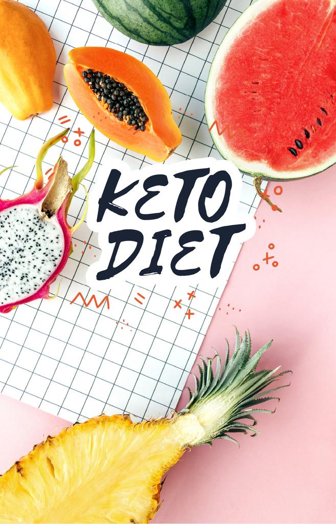Summer Fruits for diet — Maak een ontwerp