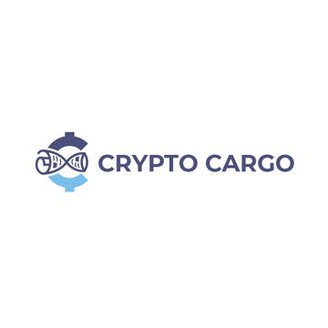 Crypto Currency Concept in Blue