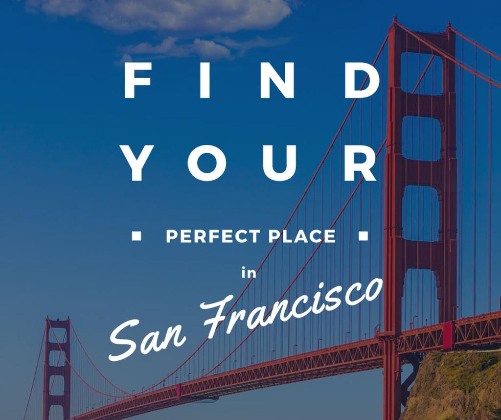 San Francisco Scenic Bridge View — Создать дизайн