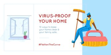#FlattenTheCurve Tips to keep Home clean during Quarantine