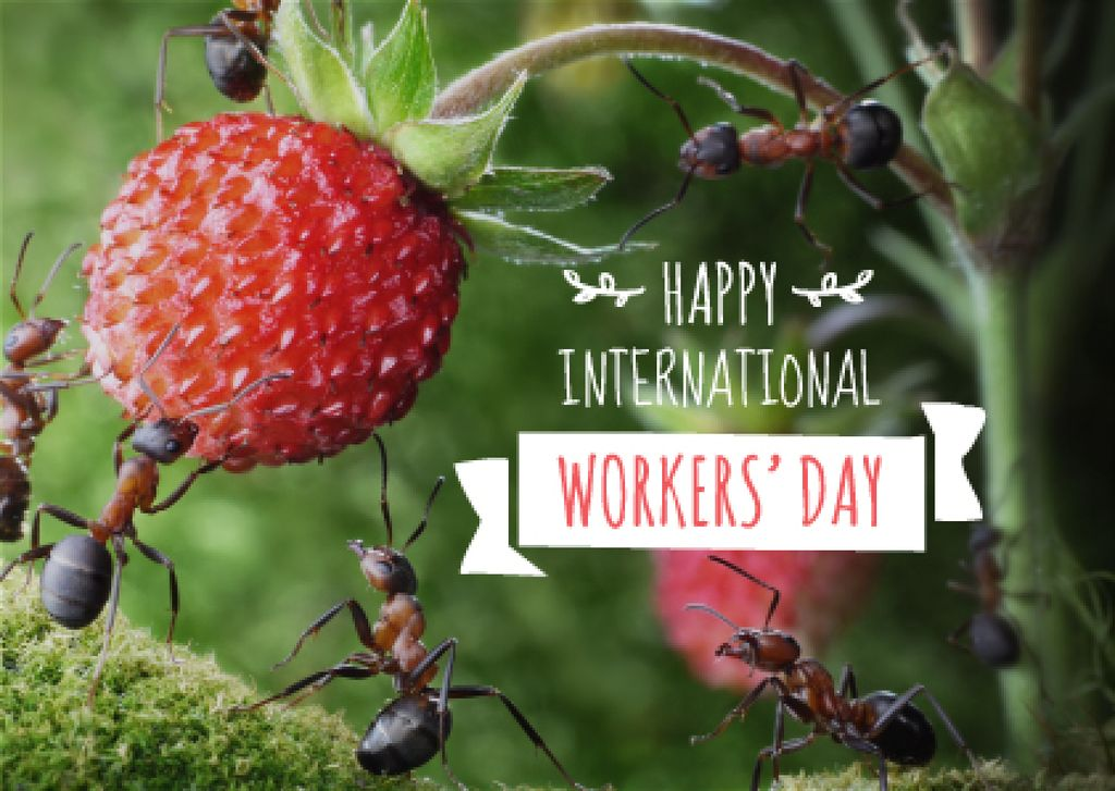 Happy International Workers Day — Створити дизайн