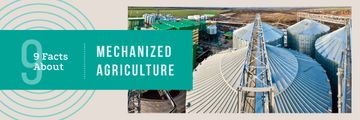 Agriculture Large Industrial Containers | Email Header Template