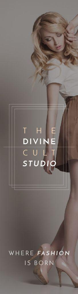 The Divine Cult Studio Skyscraper – шаблон для дизайна