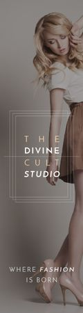 Template di design The Divine Cult Studio Skyscraper