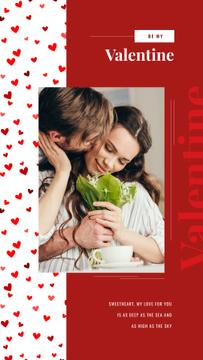 Valentine's Day Greeting Happy Loving Couple | Stories Template