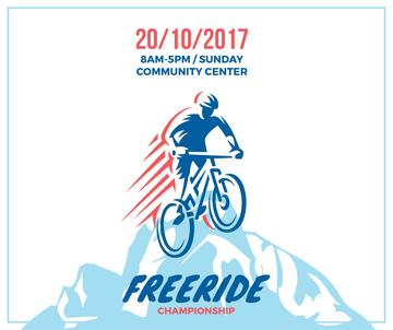 Freeride championship poster