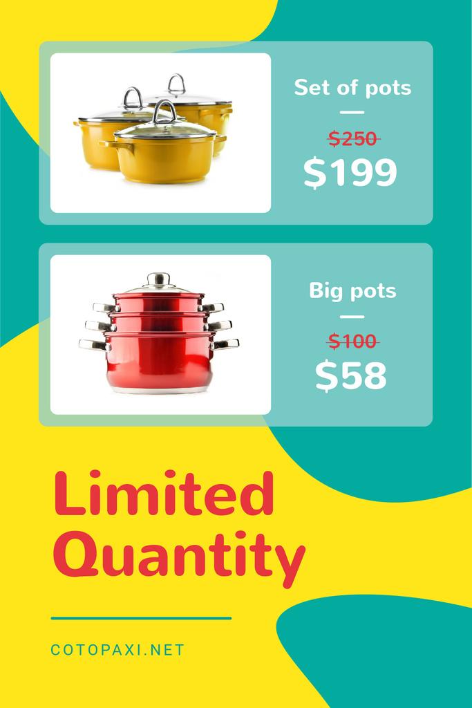 Kitchen Utensils Offer Cooking Pots Tumblr Design Template