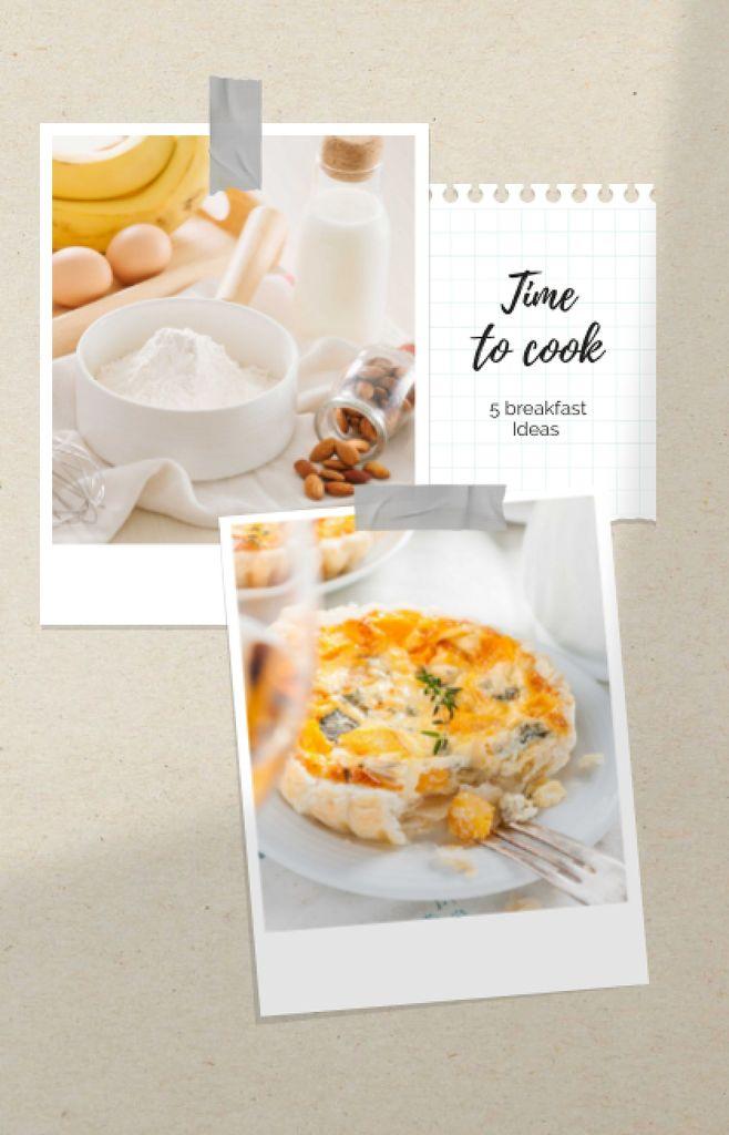 Tasty Pie recipe ideas IGTV Cover – шаблон для дизайну
