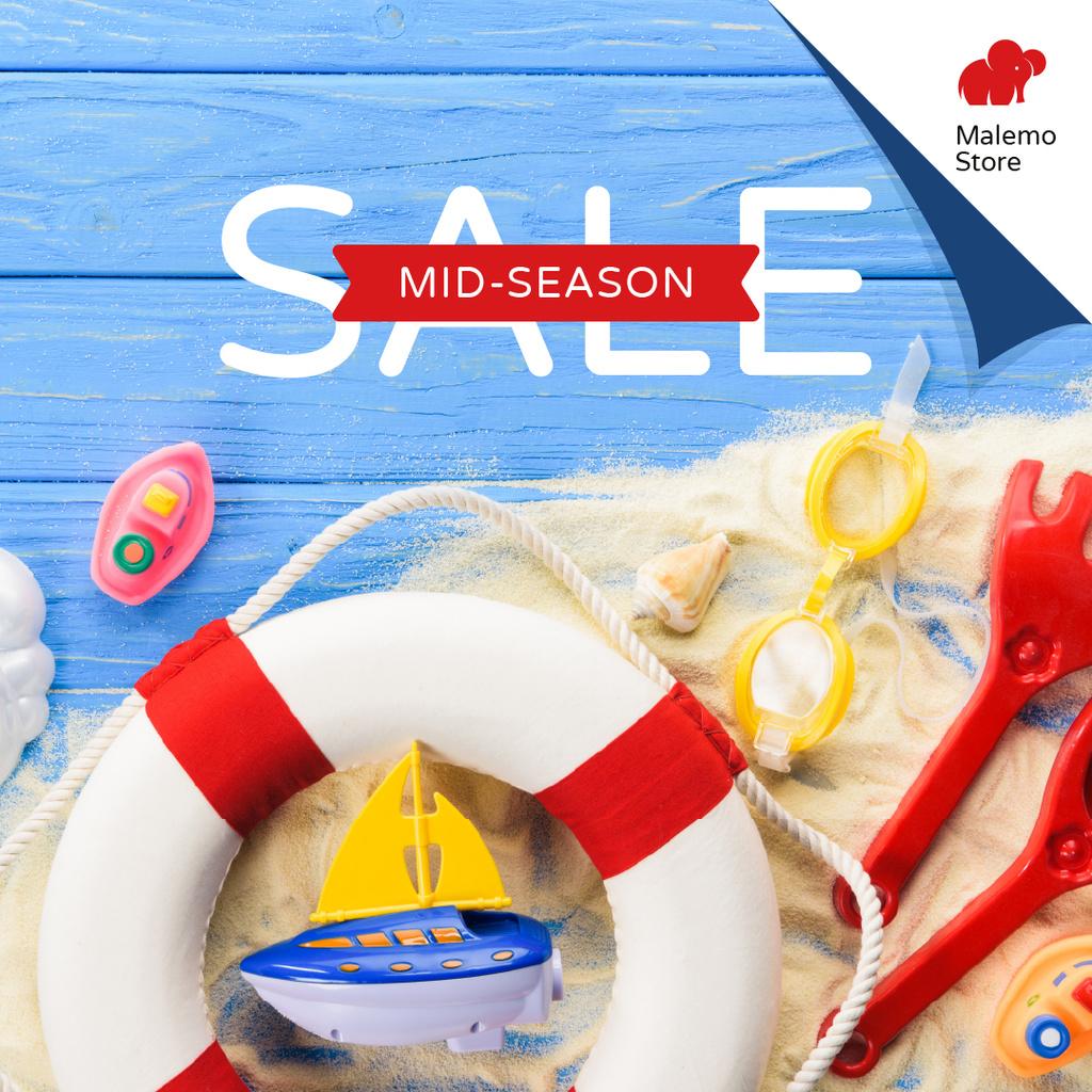 Sale Offer Kids Summer Toys — Maak een ontwerp