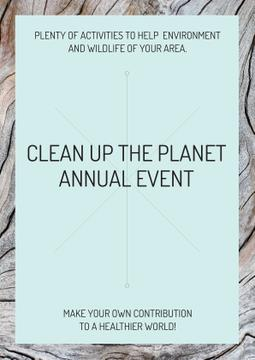 Clean up the Planet Annual event