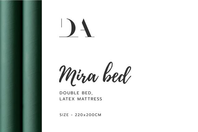 Bedroom furniture retailer contacts Label Modelo de Design