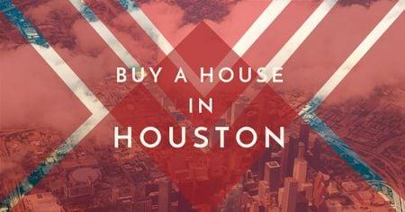 Advertisement for real estate in Houston Facebook AD – шаблон для дизайна