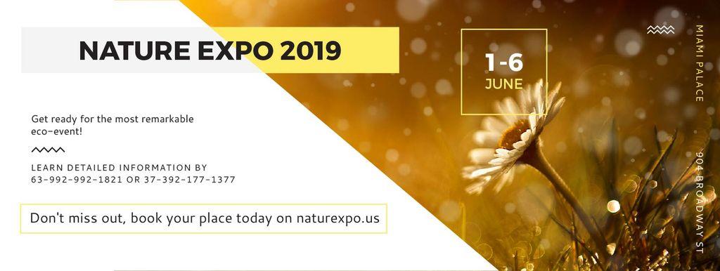 Nature Expo 2019 — ein Design erstellen