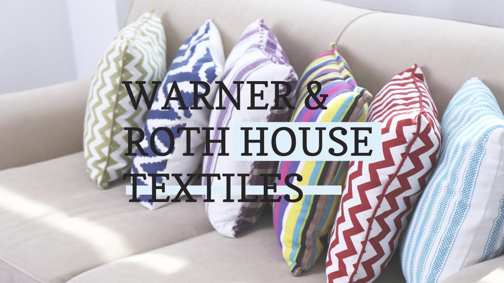 Warner & Roth House Textiles — ein Design erstellen