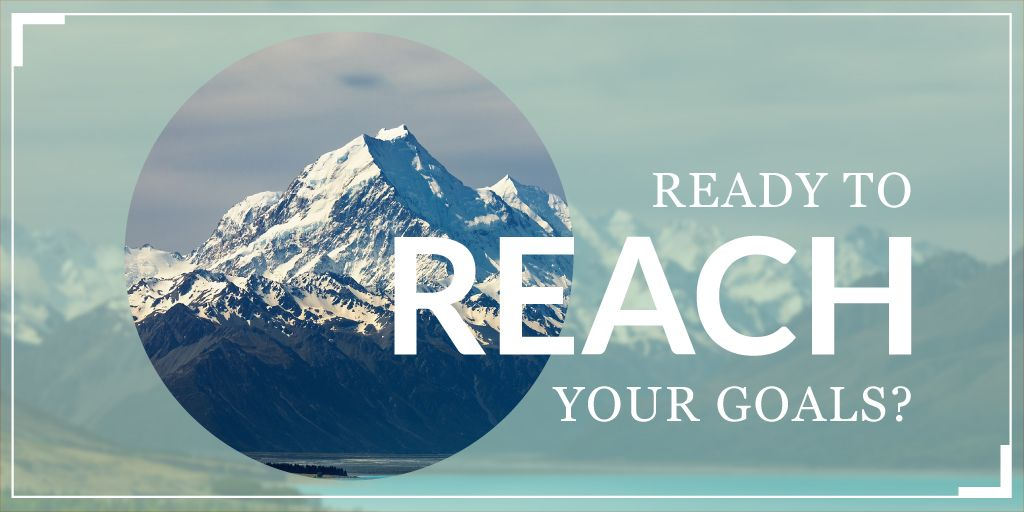 Reach goals banner — Create a Design