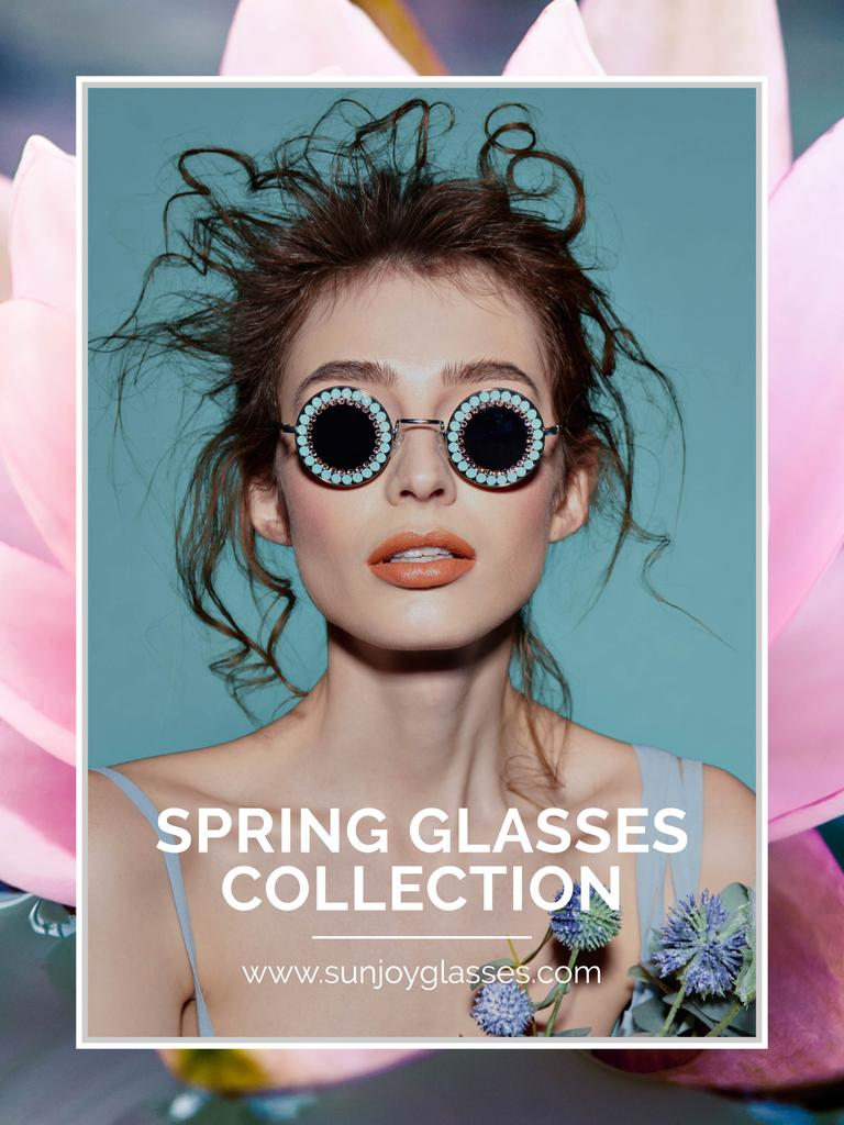 Spring glasses collection advertisement — Create a Design