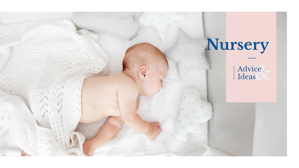 Cute baby sleeping — ein Design erstellen