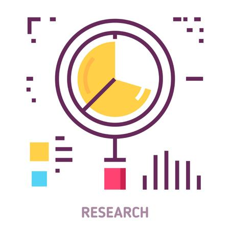 Template di design Business performance report icon Animated Post