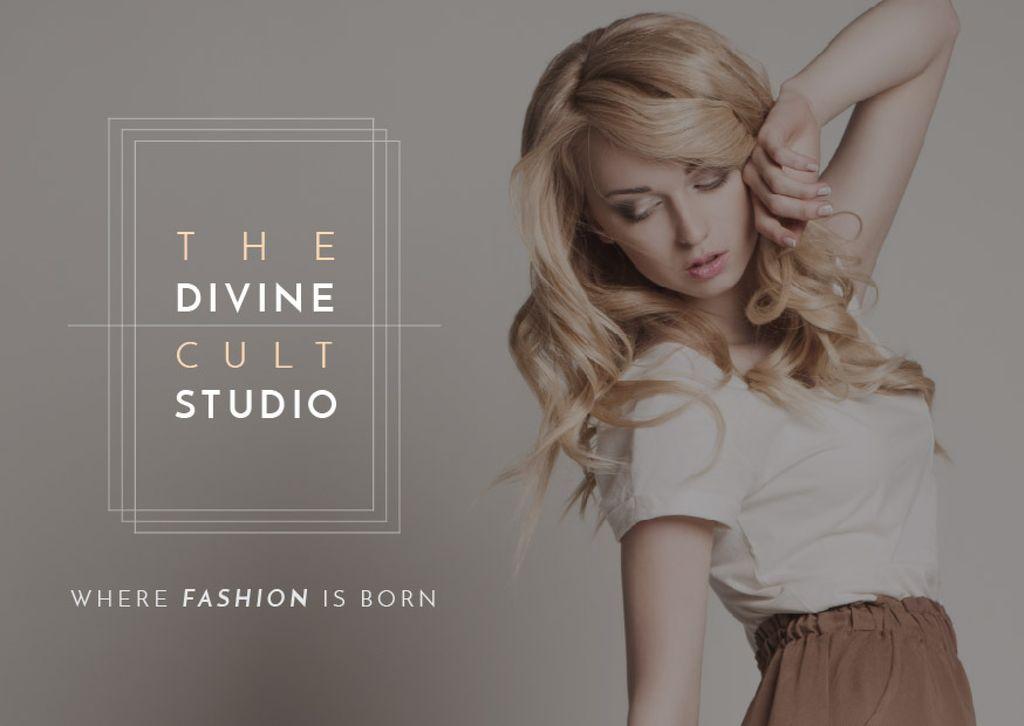 The Divine Cult Studio — ein Design erstellen