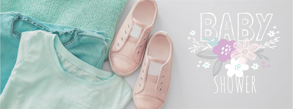 Kids clothes in pastel colors — Create a Design