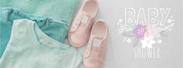 Kids clothes in pastel colors