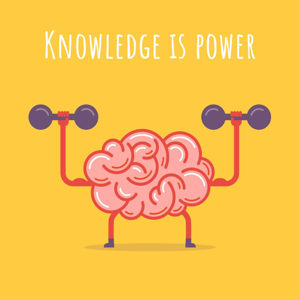 Brain training with dumbbells — Create a Design