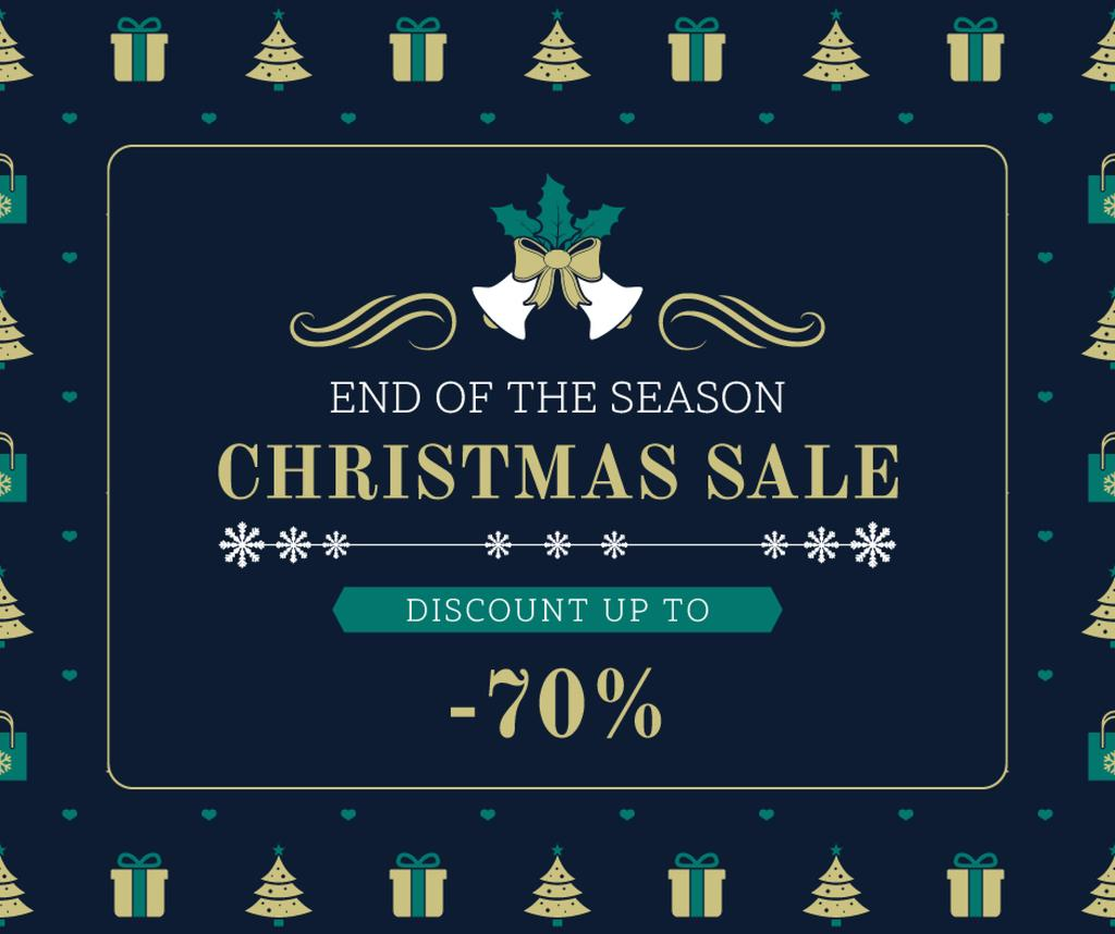 Christmas sale card — Crea un design