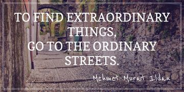 Motivational quote about Streets