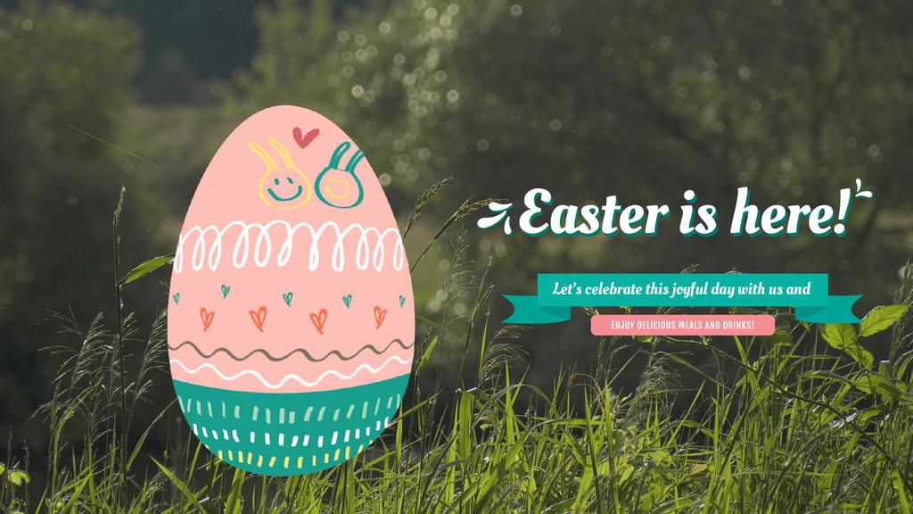 Cute Easter bunny — ein Design erstellen
