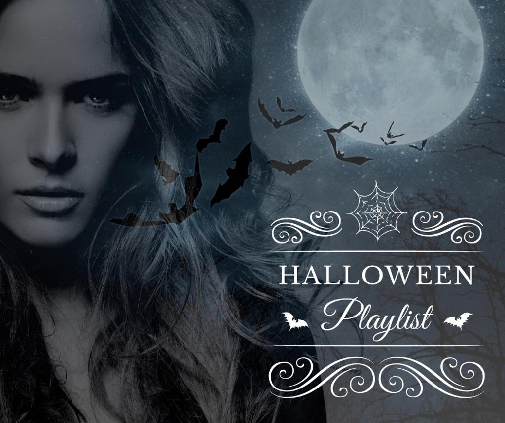 Halloween playlist with Scary Woman — Maak een ontwerp