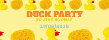 Rubber ducks and sponges for Party
