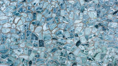 Plantilla de diseño de Blue decorative stone Wall Zoom Background