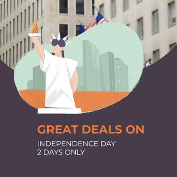 Independence Day Deals with Liberty Statue