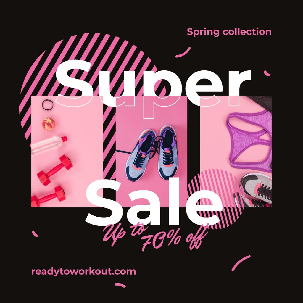 Sport shoes and clothes Sale — Створити дизайн