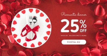Valentine's Day Offer Festive Cutlery Set