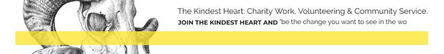 Template di design The Kindest Heart: Charity Work Leaderboard