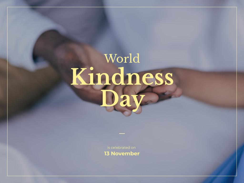 World Kindness Day — Create a Design