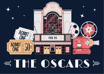 Annual Academy Awards Announcement | Postcard Template