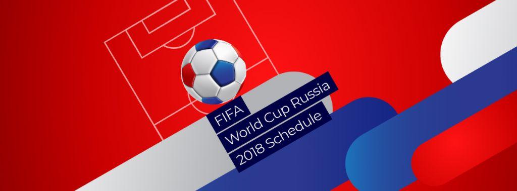 FIFA Soccer Match Announcement with Jumping Ball — Maak een ontwerp