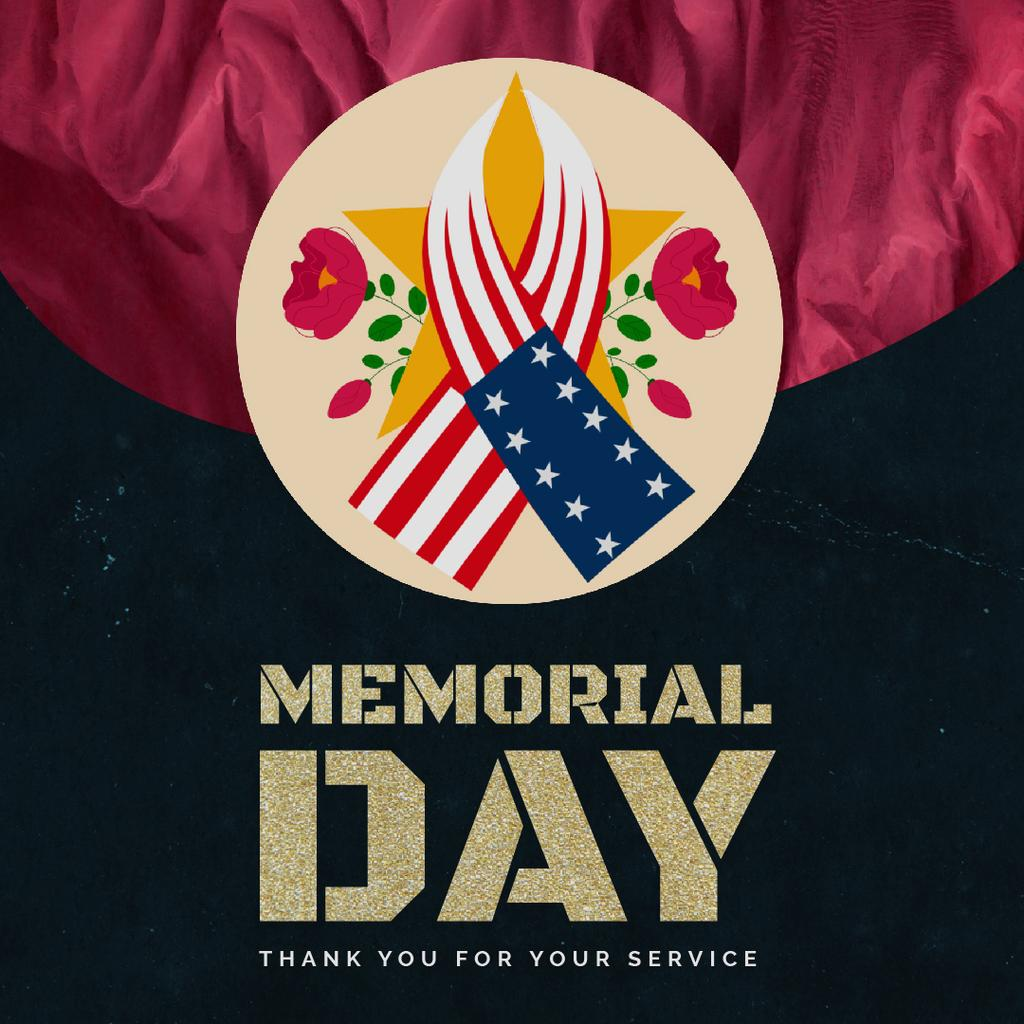 USA Memorial Day — Maak een ontwerp