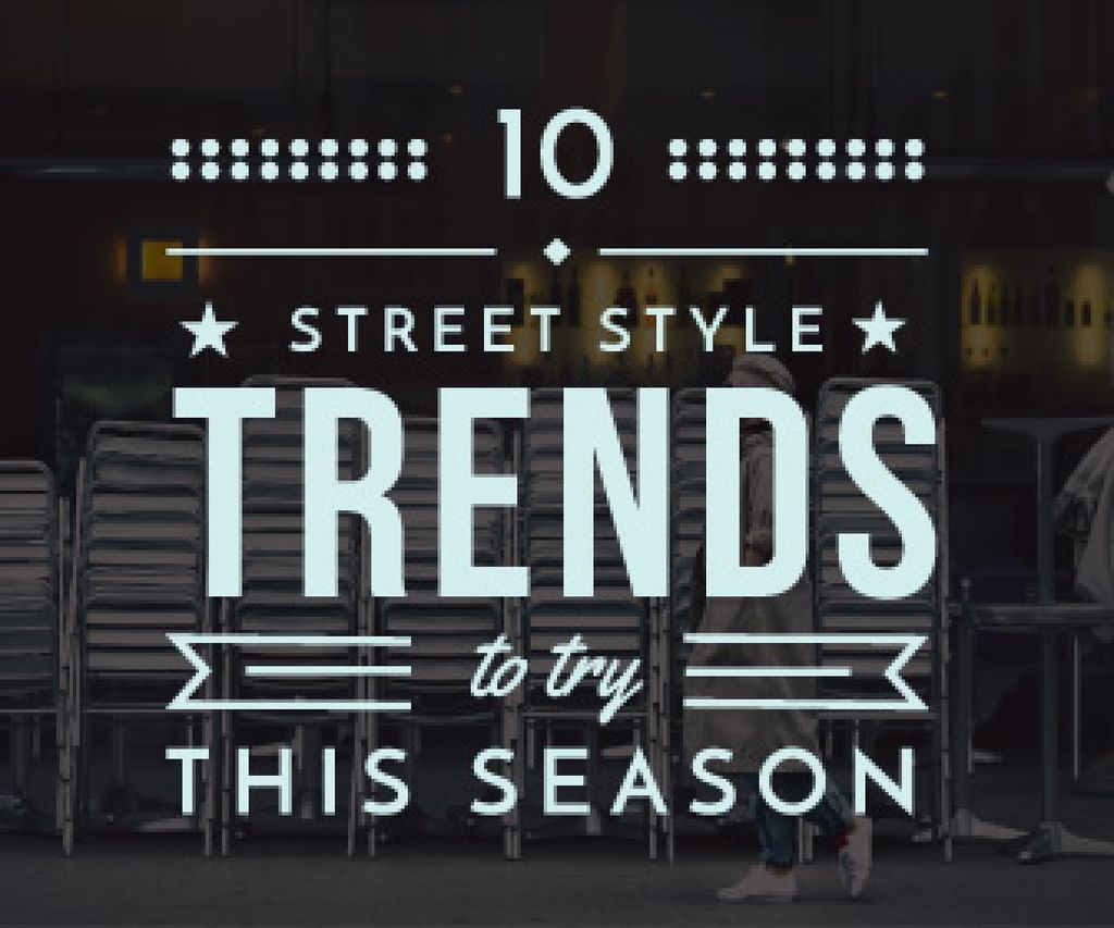 street style trends background — Create a Design