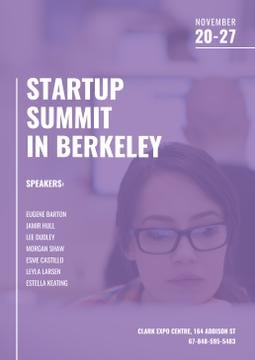 Startup Summit in Berkeley 2017