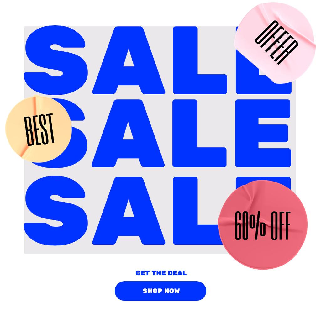 Online Shop Sale — Create a Design