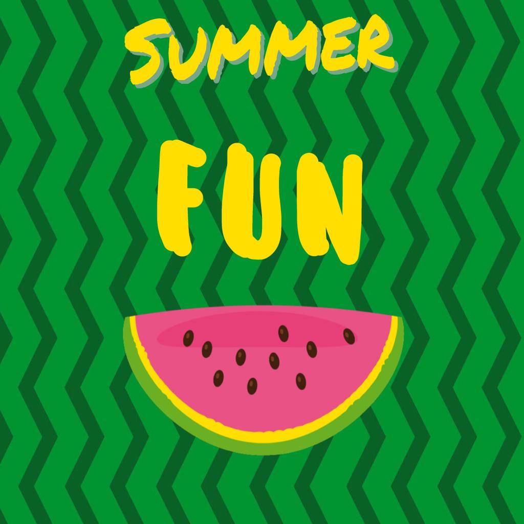 Piece of fresh watermelon — Create a Design
