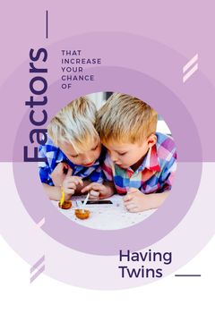 Twins Boys Playing on Phone | Tumblr Graphics Template