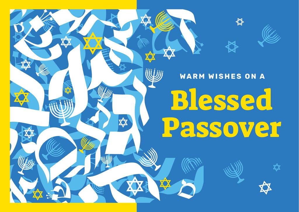 Passover holiday symbols — Create a Design