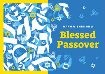 Passover holiday symbols