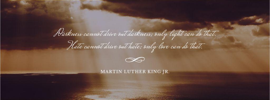 Martin Luther King day — ein Design erstellen