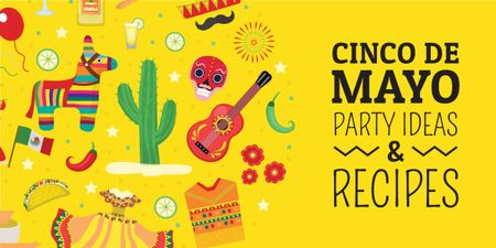 Template di design Cinco de Mayo party ideas and recipes Image